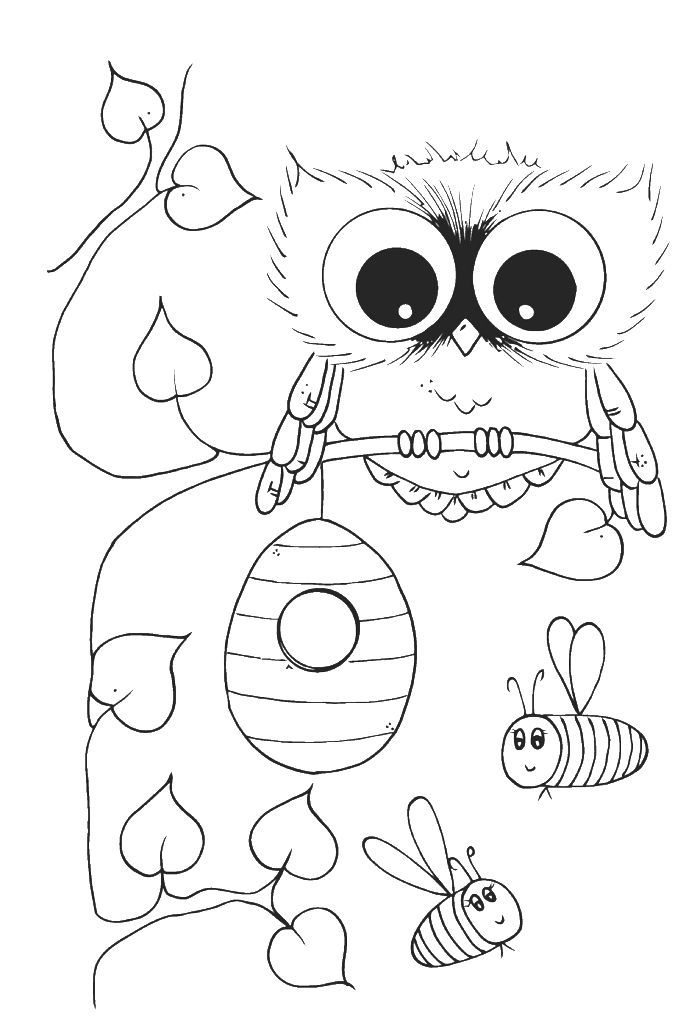 Owl Books For Kids - Coloring Home
