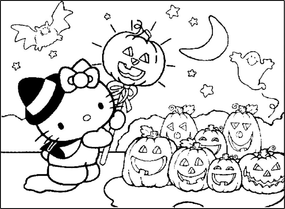 Pics of hello kitty az coloring pages for Pics of hello kitty coloring pages