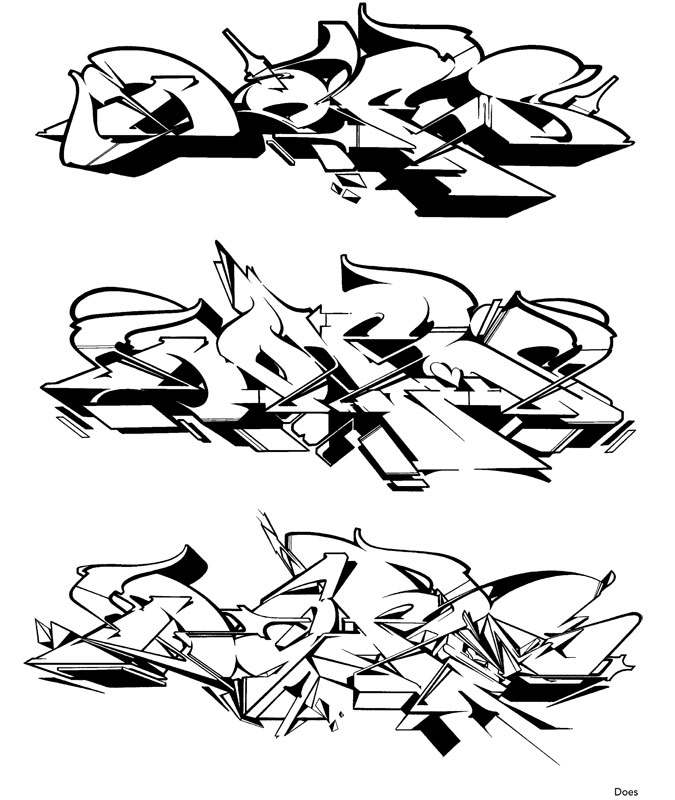 Cute Pages Of Graffiti Coloring Pages