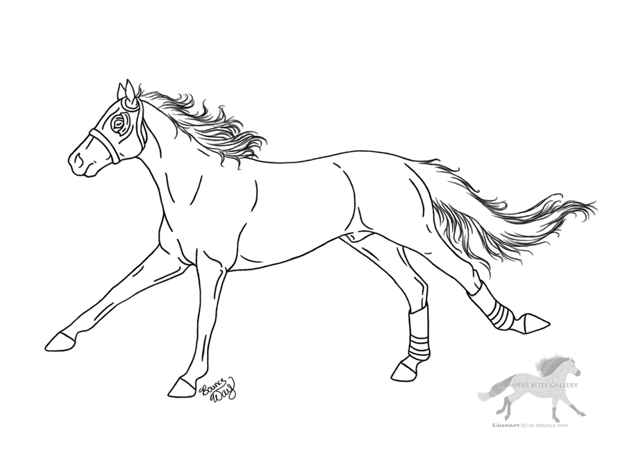 Horse Racing Coloring Pages - Coloring Home