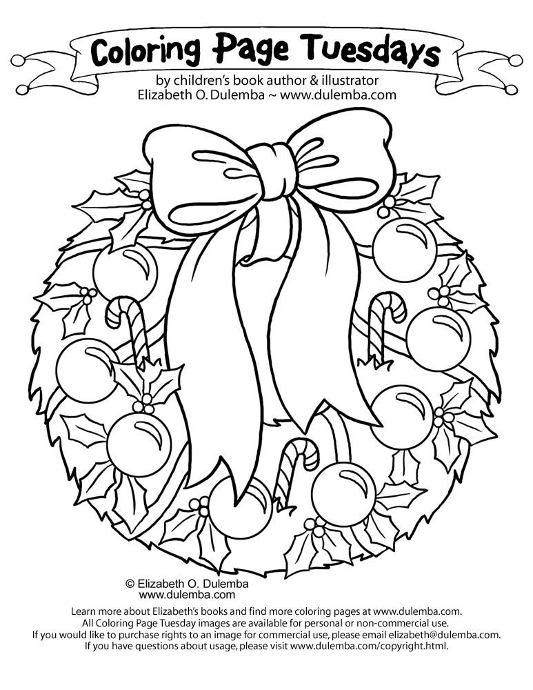 Cool Christmas Coloring Pages