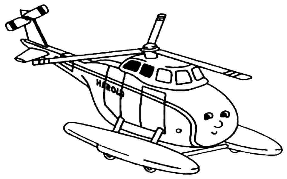coloring pages helicopter - photo#30