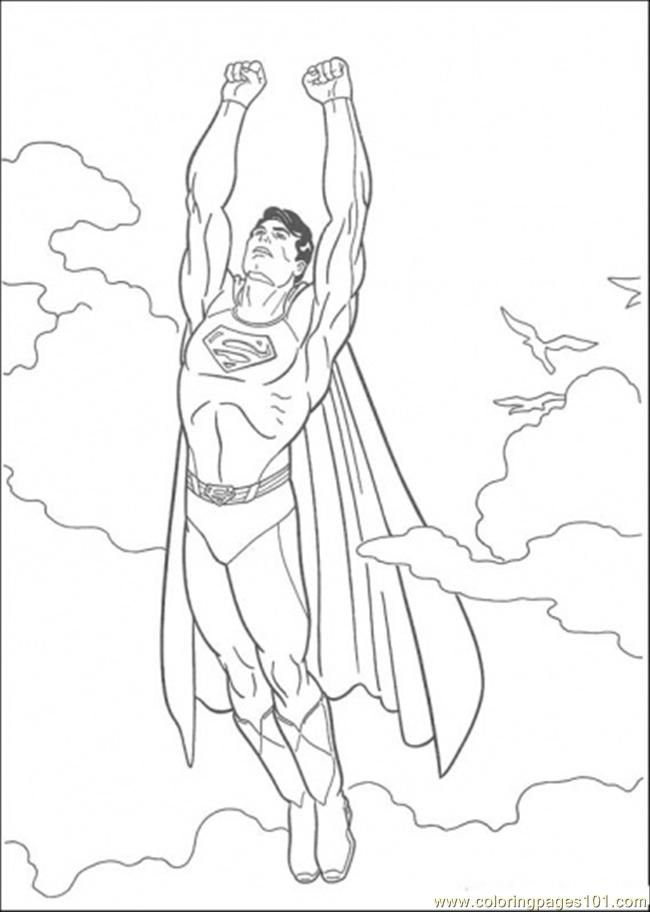 Picture Of Superman Cartoon