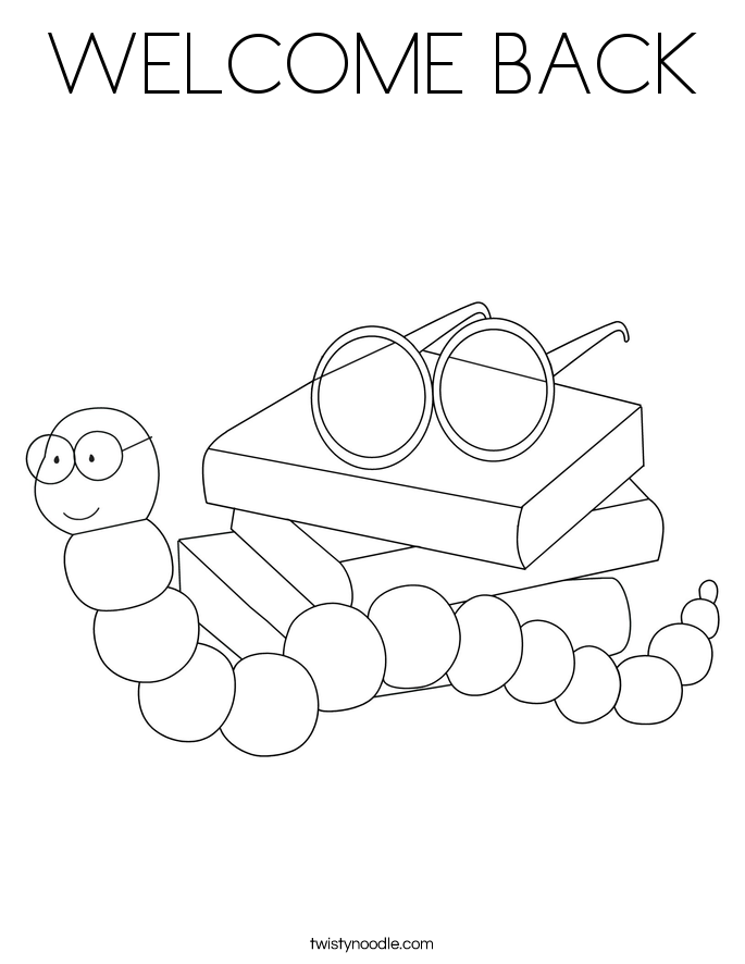 Welcome home coloring pages coloring home for Welcome home coloring pages