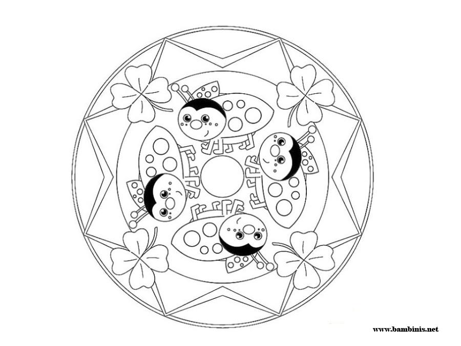 mandalas for kids az coloring pages