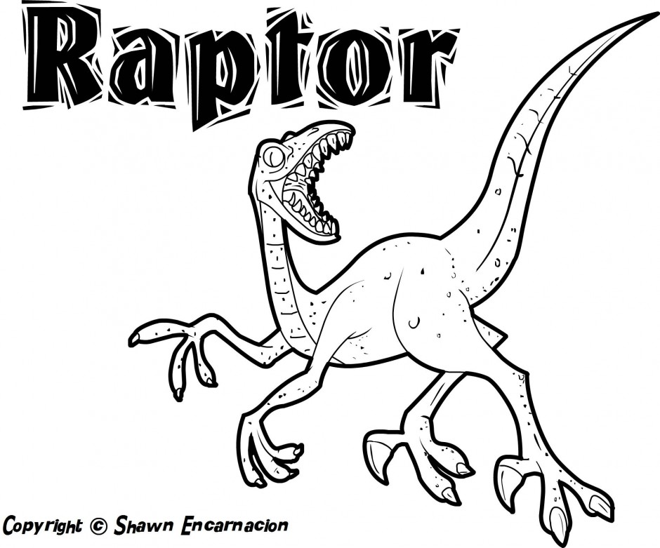 allosaurus coloring pages - photo#29