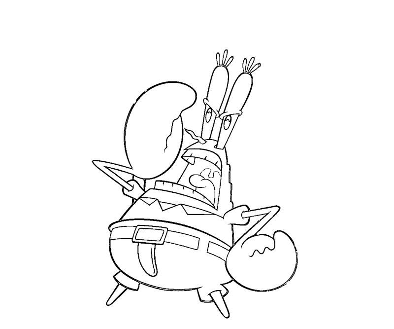 Mr Krabs Coloring Pages Az Coloring Pages Spongebob Mr Krabs Coloring Pages