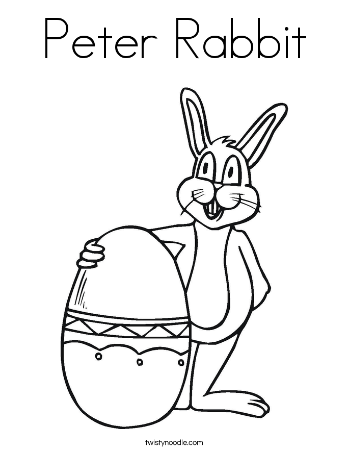Search Results » Bunny Rabbit Coloring Pages
