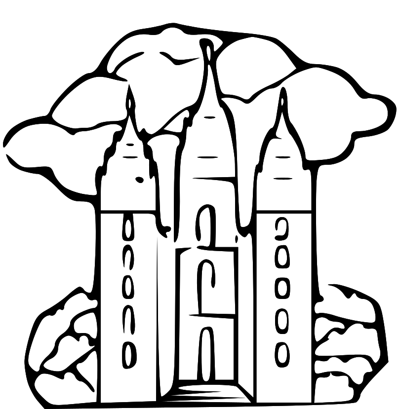 Lds Coloring Pages Pdf : Lds temple coloring pages az