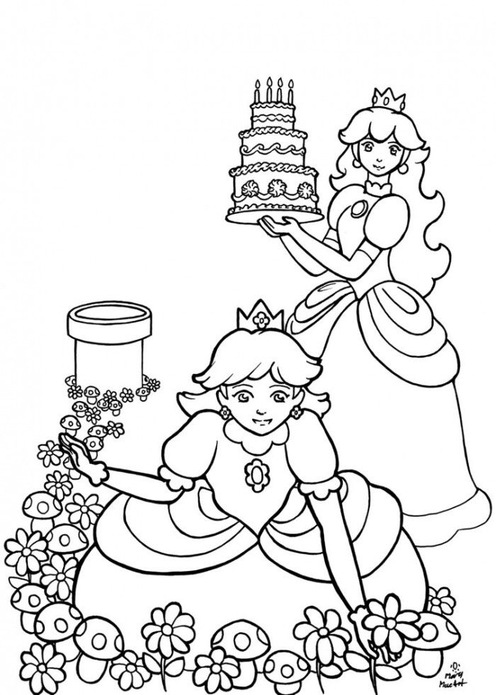 Cute Girly Coloring Pages | 99coloring.com