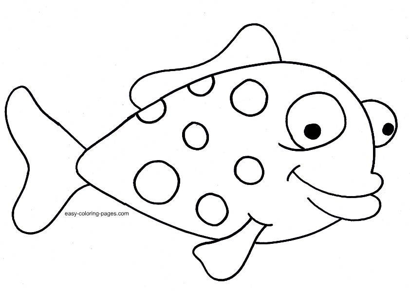 Fish coloring book pages az coloring pages for Printable fish coloring pages