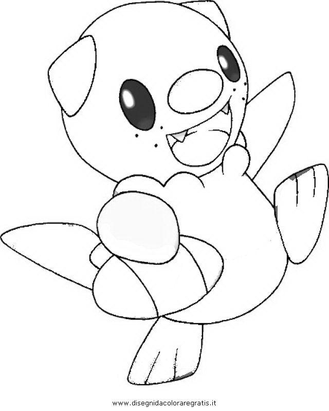 Pokemon Coloring Pages Oshawott