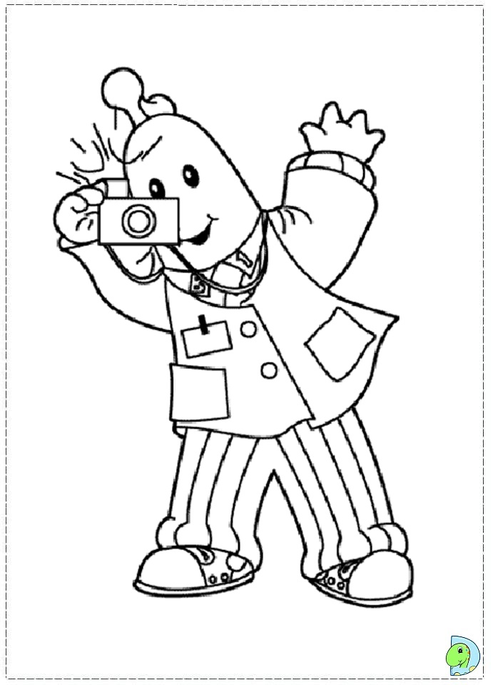 amy in bananas in pajamas Colouring Pages (page 2)