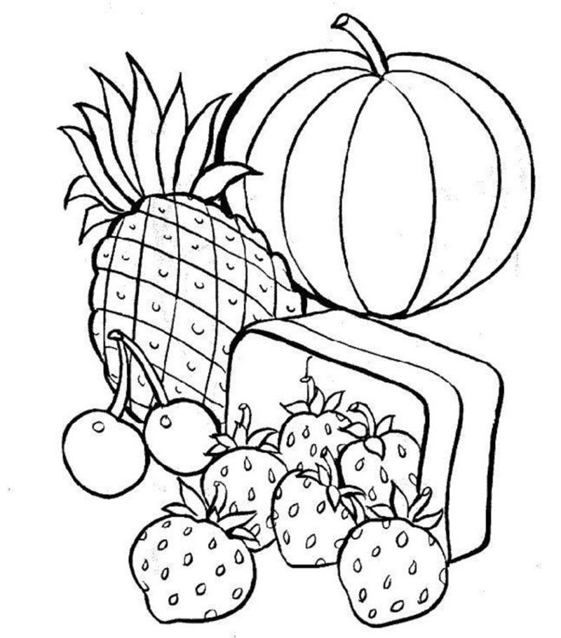 Colouring Pages For Nutrition : Nutrition coloring pages home