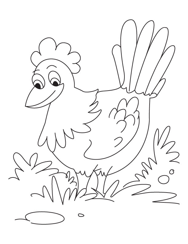 Little Red Hen Coloring Pages | Coloring Pages