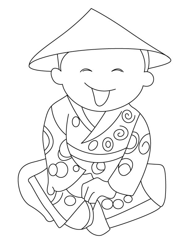 Free Colouring Pages Chinese New Year : Chinese new year coloring page az pages