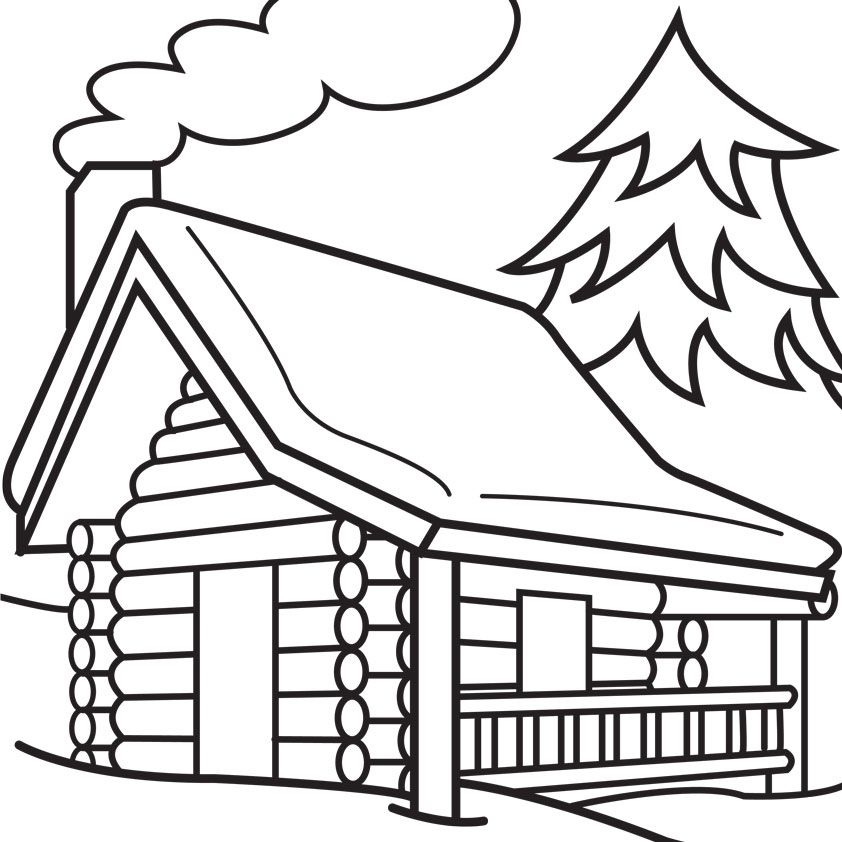 log coloring pages - photo#22