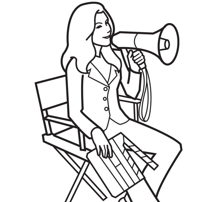 Tv coloring pages coloring home for Tv coloring page