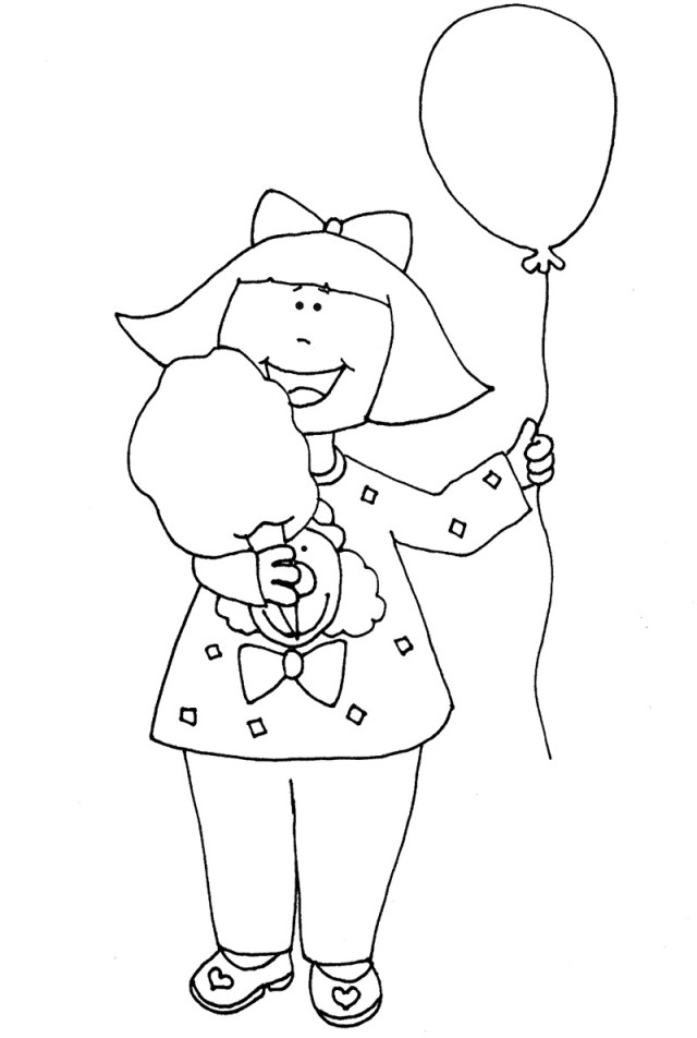 Cotton Candy Coloring Page Az Coloring Pages Cotton Coloring Page