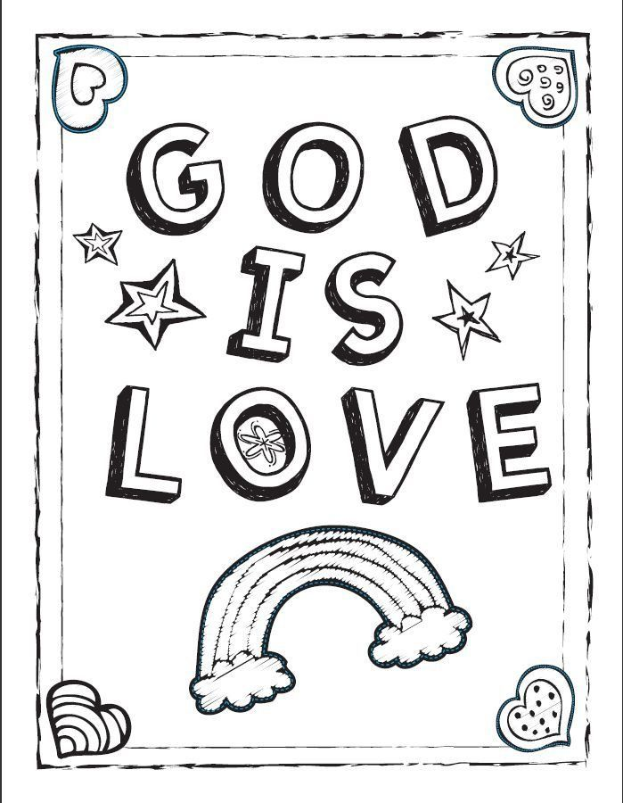 gods children coloring pages - photo#5