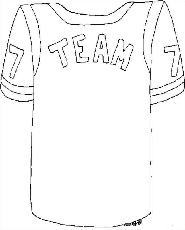 nfl football jersey coloring pages: | Football ideas