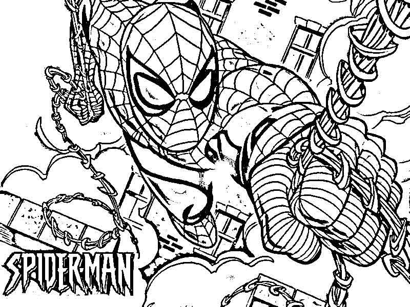 Spiderman Coloring Pages Pdf : Spiderman coloring pages free printable