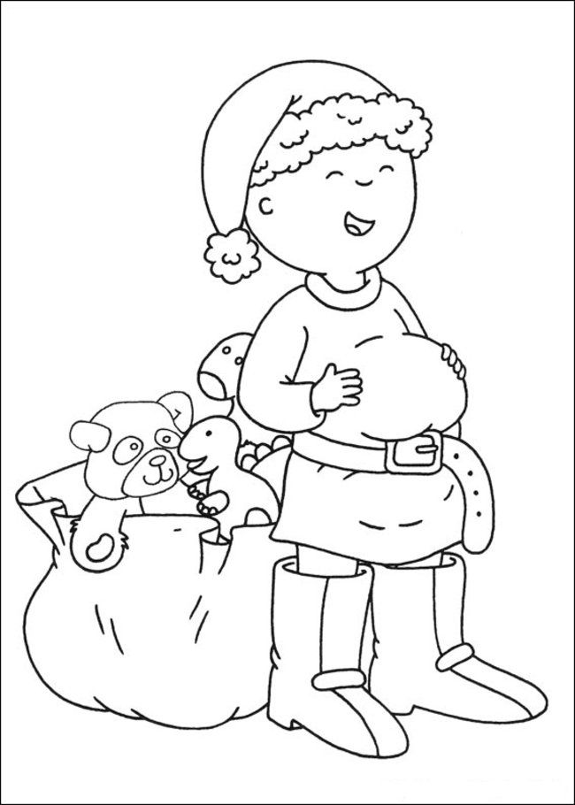 Caillou Coloring Pages Online - Picture 21 – Free Printable