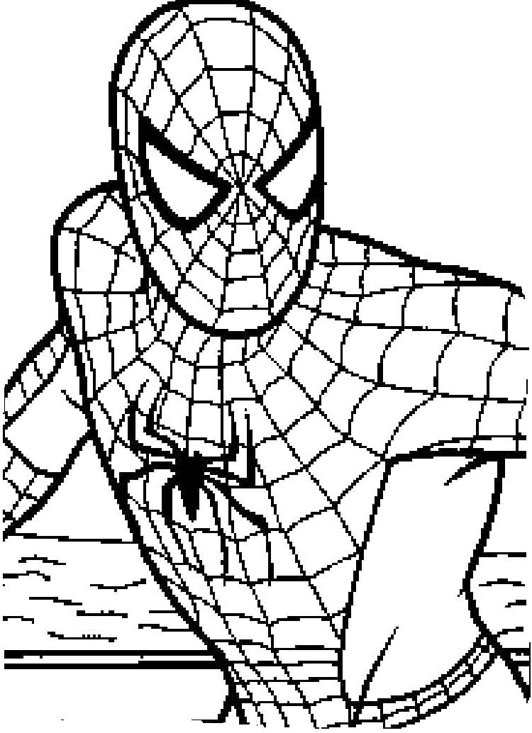 Spider man far from home printable coloring page 30 free spider ... | 1034x750