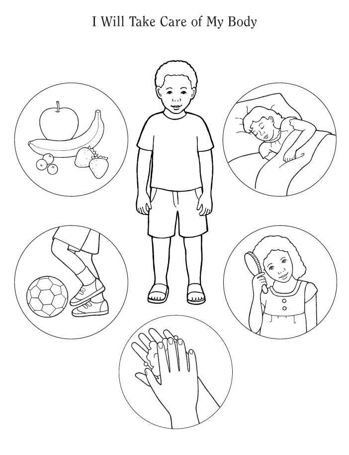 Coloring Pages Of Body Parts 364 Free Printable Coloring Coloring Pages Parts