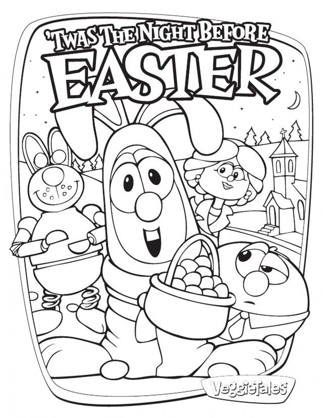 veggie tales coloring pages free - photo#18