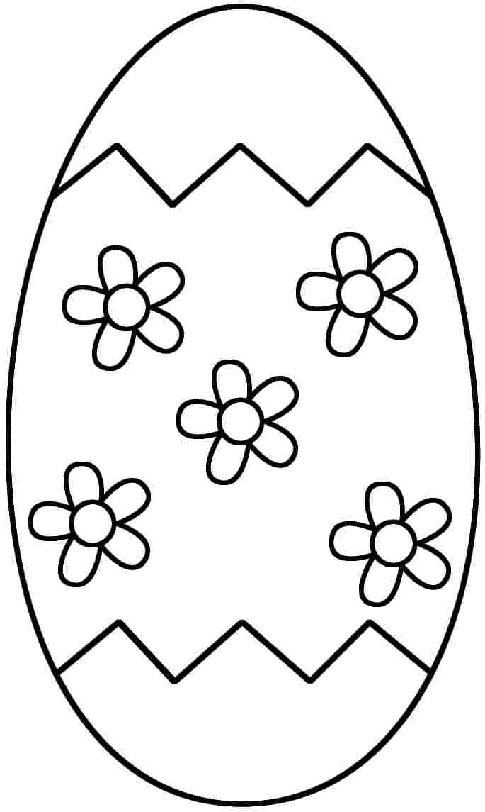 printable easter egg coloring pages - boy easter egg coloring pages