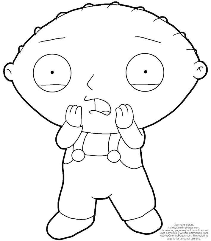 Stewie Griffin Coloring Pages Coloring Home Stewie Coloring Pages