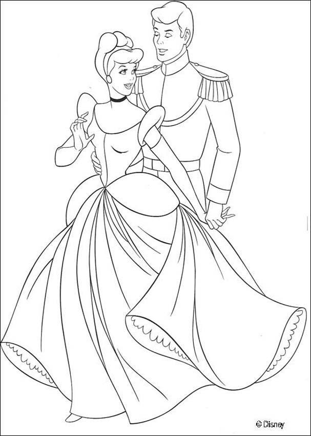 disneys cinderella coloring pages - photo#28
