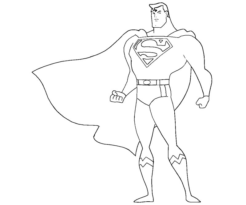 printable superman logo coloring home