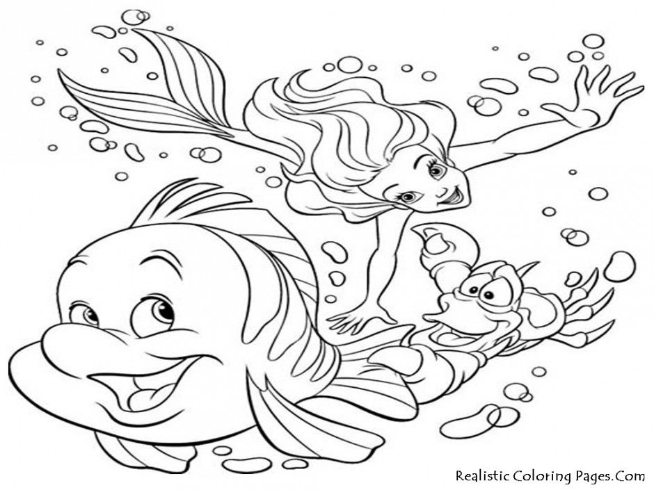 Sea Life Coloring Pages Printable Printable Coloring Sheet 294601