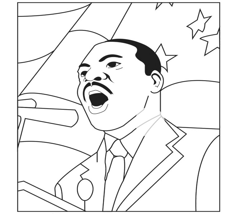 Martin Luther King Coloring Pages For Kids Az Coloring Pages Free Dr King Coloring Pages Pdf