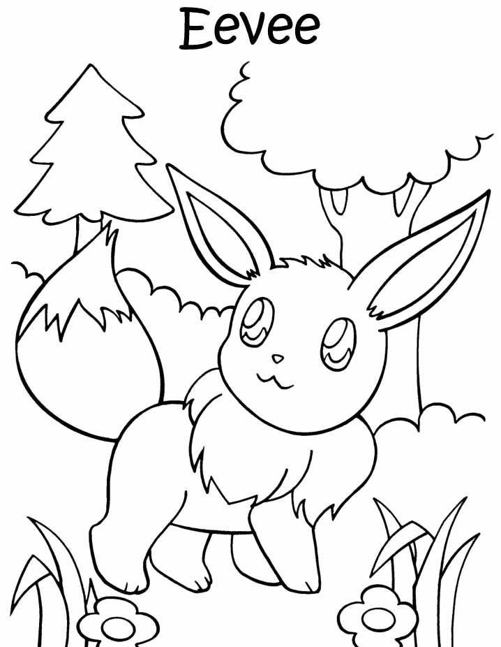 Pokemon Print Coloring Home