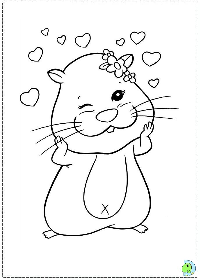 Zhu zhu pets coloring pages az coloring pages for Zhu zhu pets coloring pages