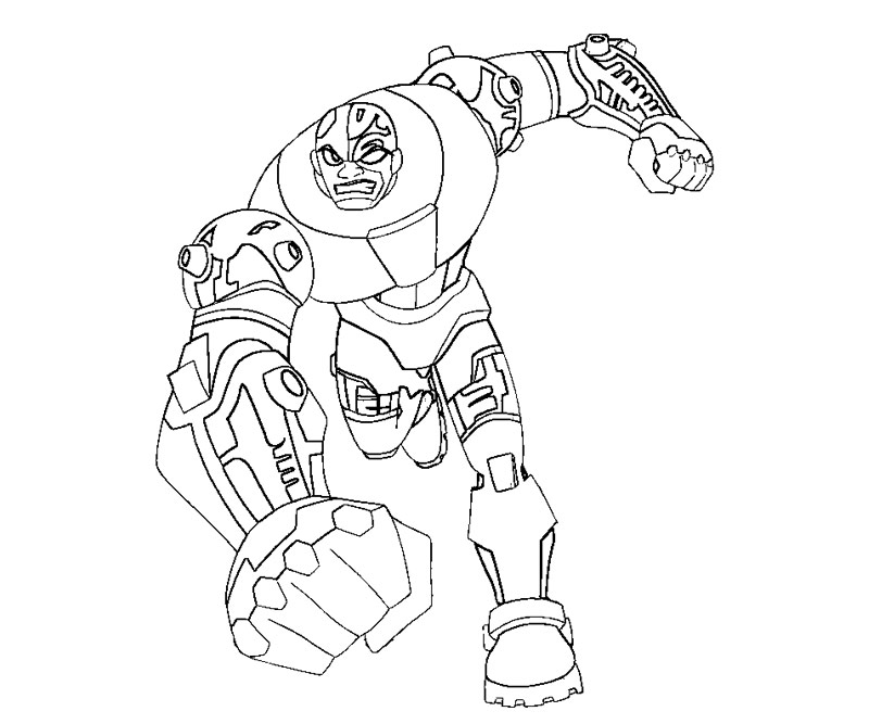 Teen titans coloring page az coloring pages for Teen titan coloring pages