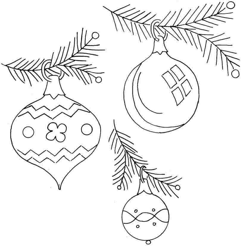 Free Printable Christmas Tree Coloring Pages For Little