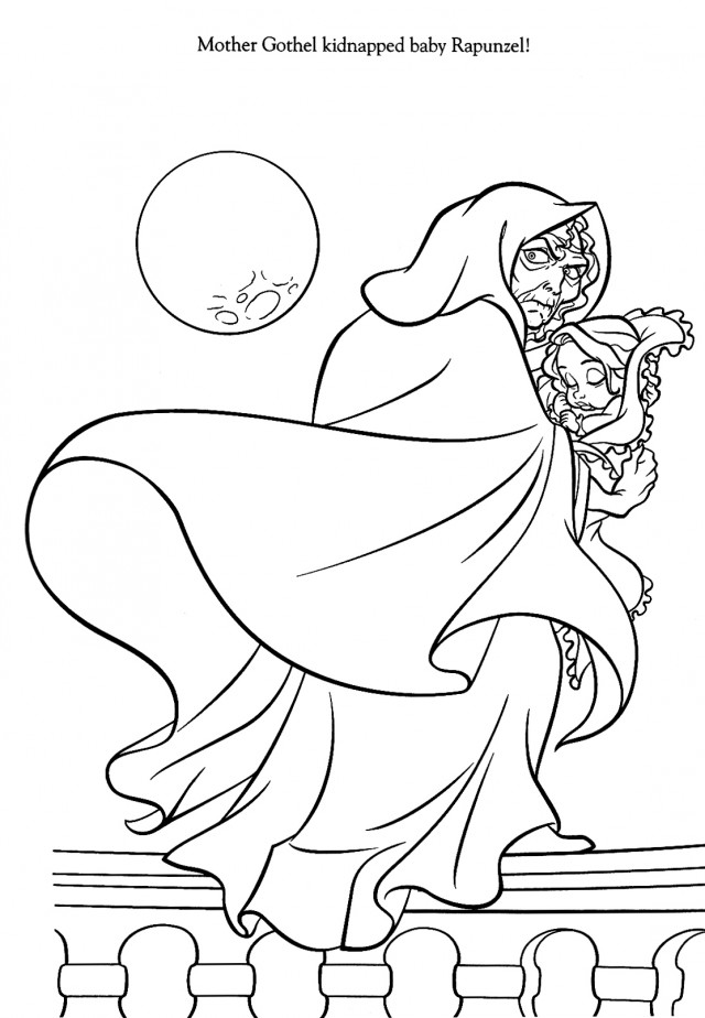 disney winter coloring pages - photo#23