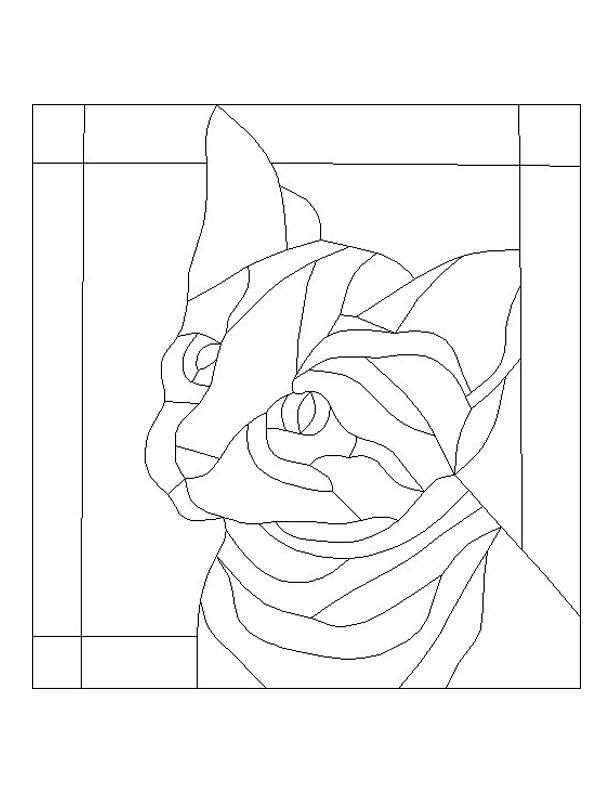 Find many Free Animal Patterns For Stained Glass here