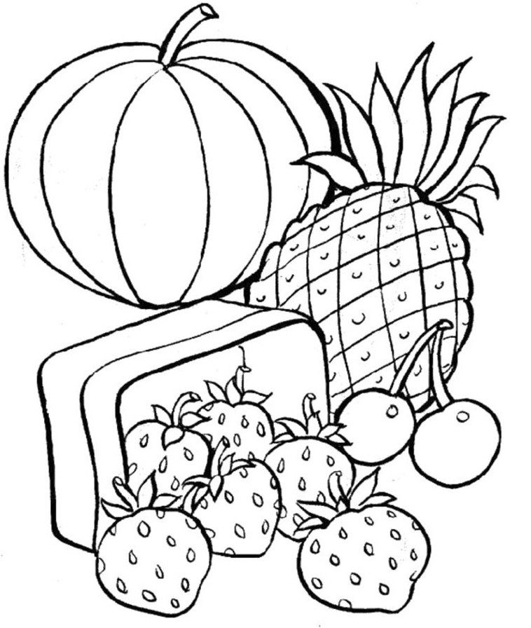 coloring pages on health - photo#2