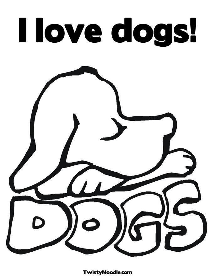 Coloring Pages To Print Dogs : Printable coloring pages of dogs home