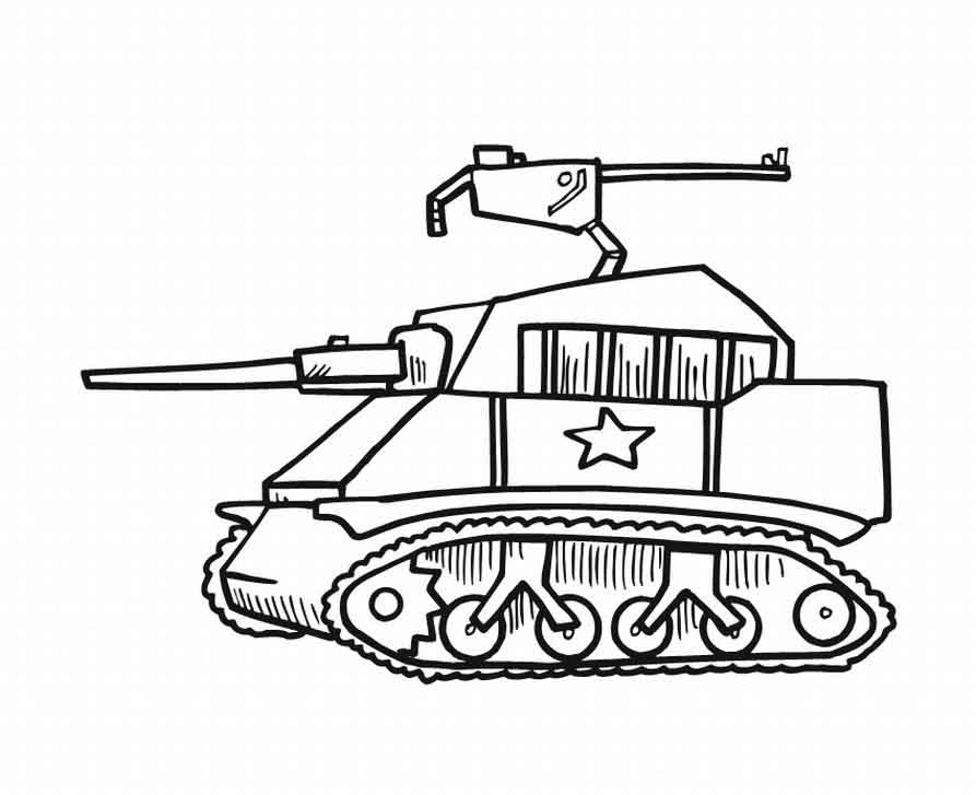 Tanks coloring pages az coloring pages for Tank coloring page