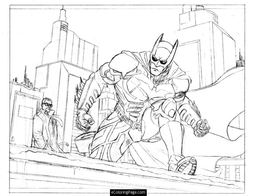 Dc Coloring Pages Coloring Home