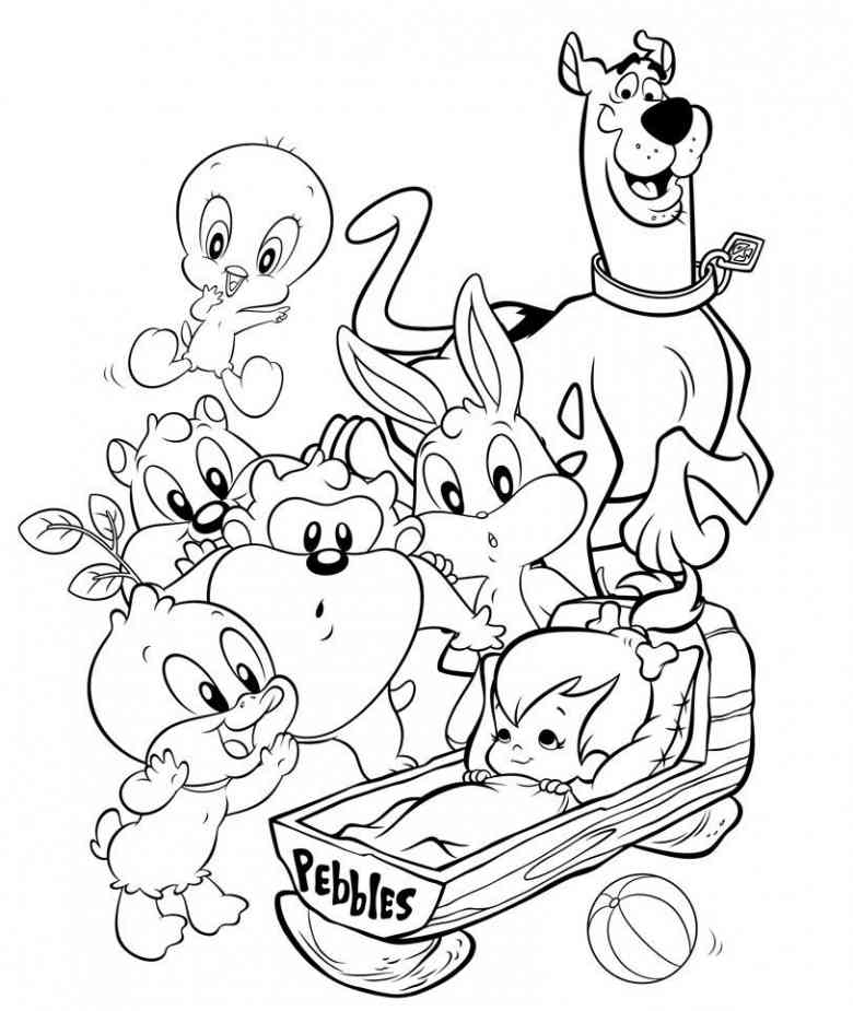 Baby Looney Tunes Images - Coloring Home