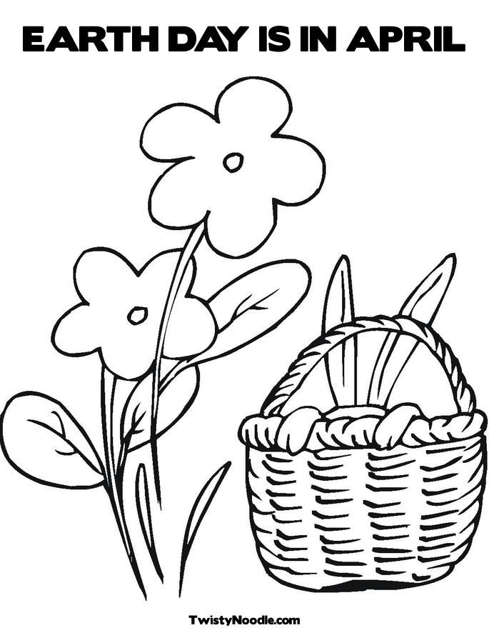 april printable coloring pages - photo#26