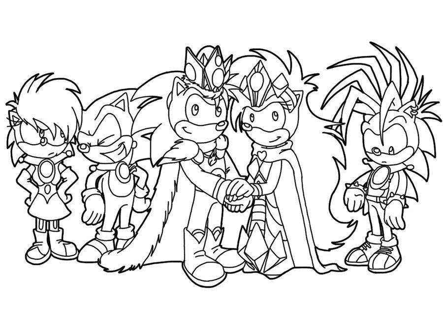 Sonic Printable Coloring Pages Coloring Home