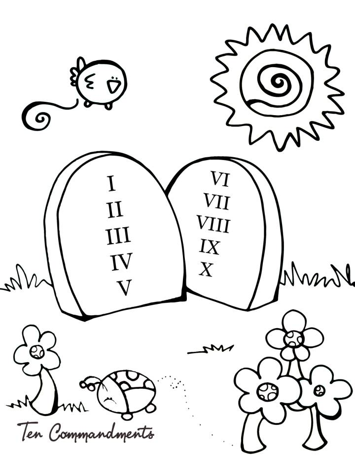 Sunday School Coloring Pages For Preschoolers - Category